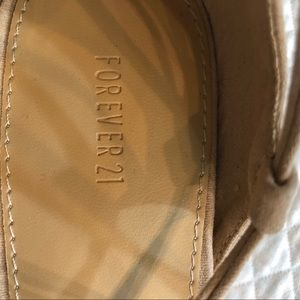 Forever 21 Shoes - Forever 21 Suede Shoes